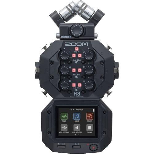 Zoom h8 audio recorder huren