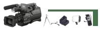 Complete video camera set huren